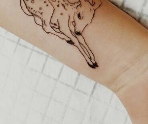animals, bambi, and body art image