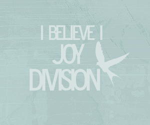 believe, text, and joy division image