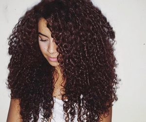 beautiful, curly hair, and curly image