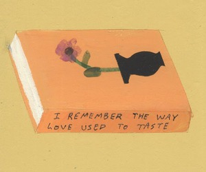 love, art, and flower image