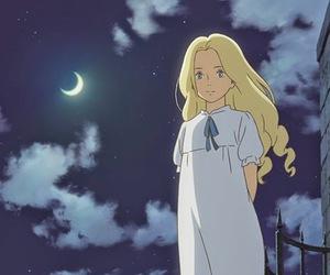 anime, moon, and studio ghibli image
