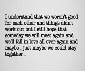 breakup, hope, and sad image
