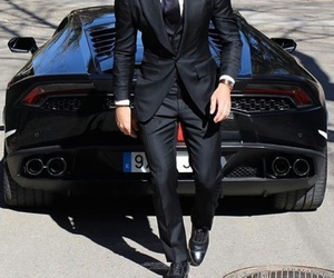 car, luxury, and suit image