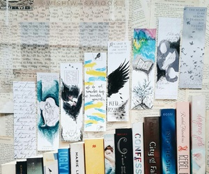 bookmarks and books image