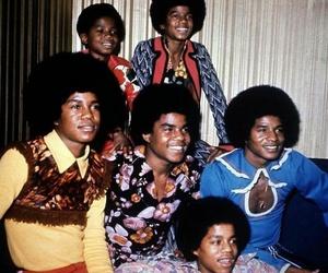 band, childhood, and michael jackson image