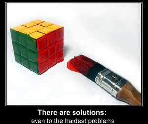 solution, problem, and funny image