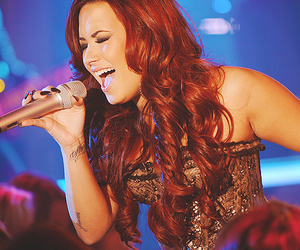 demi, tatto, and singing image