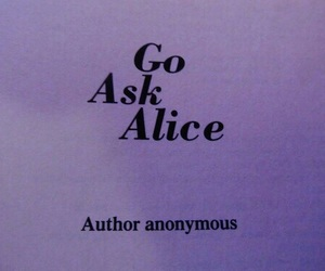 alice, book, and grunge image