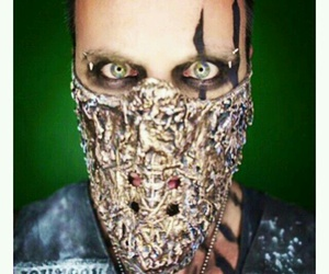 bands, eyes, and metal image
