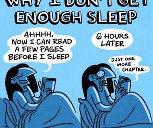book and sleep image