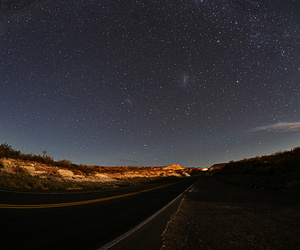 photography, stars, and travel image