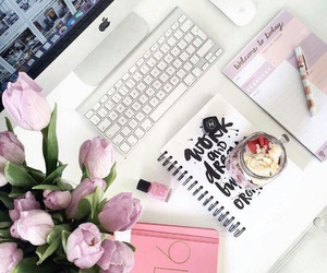 flowers, inspiration, and room image