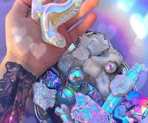 crystal and unicorn image