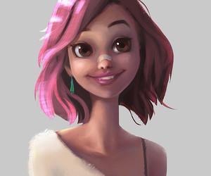 amazing, drawings, and girl image