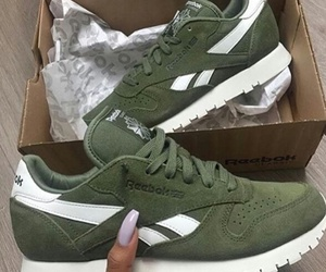 fashion, reebok, and sneakers image