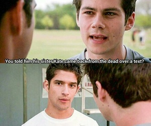 teen wolf, scott, and stiles image
