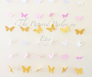 baby shower, etsy, and butterfly party image