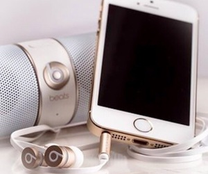 iphone, beats, and apple image