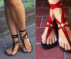 etsy, gladiator sandals, and women's shoes image