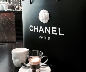 chanel, coffee, and luxury image