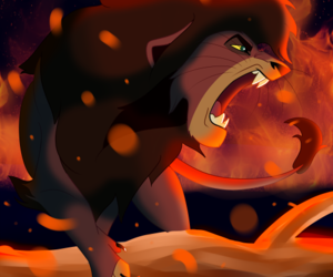 disney, the lion king, and kovu image
