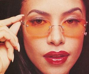 aaliyah, rip, and sunglasses image