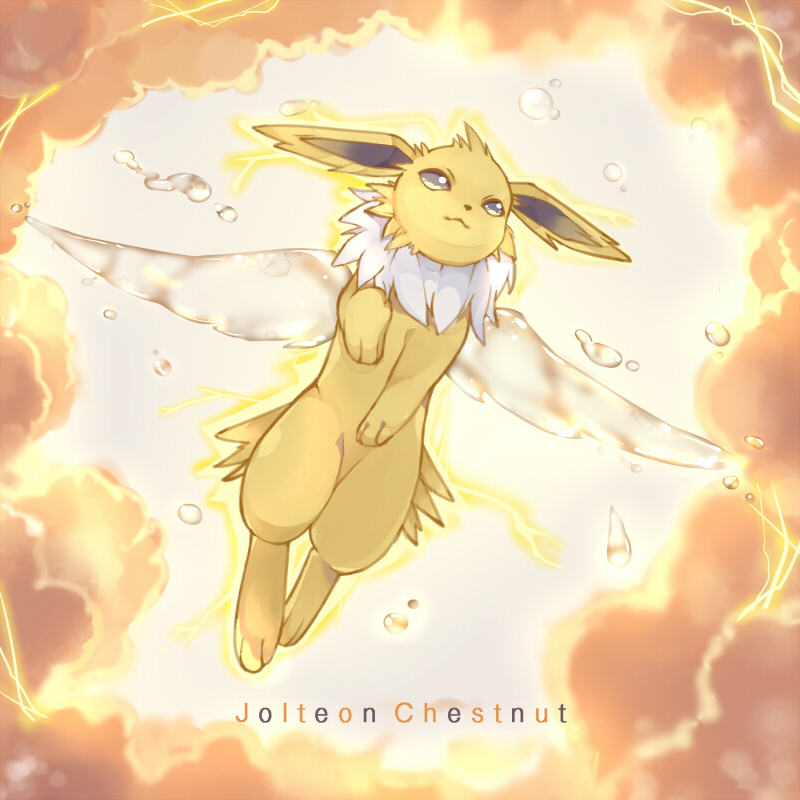 pokemon, jolteon, and kawaii image