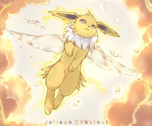 pokemon, jolteon, and kawaii image