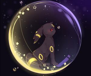 pokemon, umbreon, and kawaii image