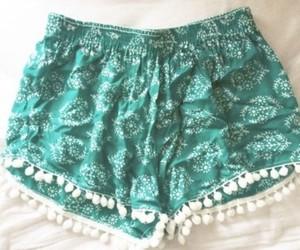 shorts, summer, and green image