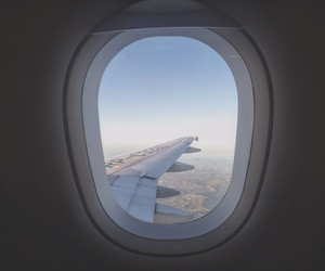 airplanes, travel, and city image