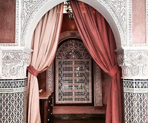 architecture and morocco image