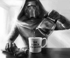coffee, the force awakens, and dark side image