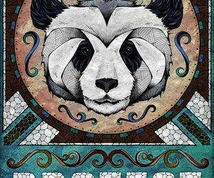 art, panda, and andreas preis image