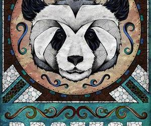 art, panda, and andreas preis image