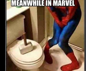 thor, Marvel, and funny image