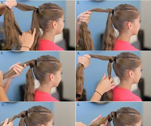 cheveux, coupe, and tresse image