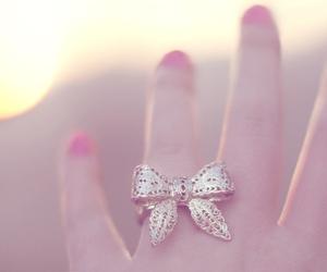 ring, bow, and nails image