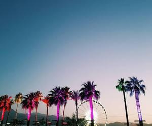 coachella, festival, and sky image