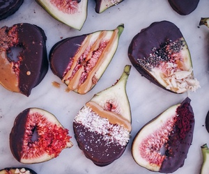food, fruit, and figs image