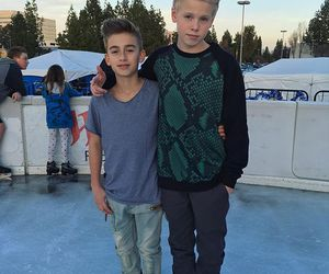 carson lueders and johnny orlando image