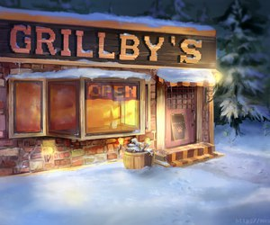 undertale and grillby's image
