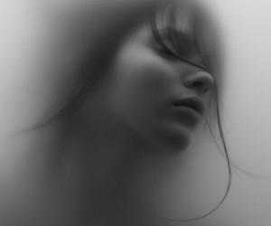 beautiful, insane, and black and white image