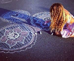 art, boho, and summer image