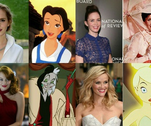 actress, belle, and disney image