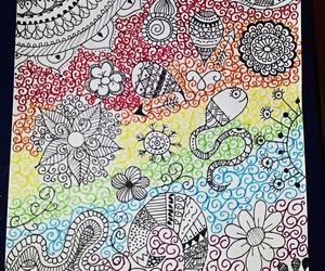 draw and mandala image