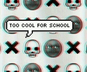 school, black, and cool image