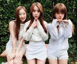 exy, soobin, and cosmic girls image