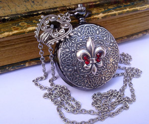 etsy, fleur de lis, and gothic jewelry image