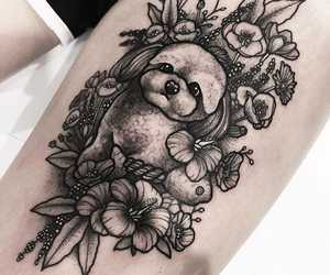 black, inked, and ink image